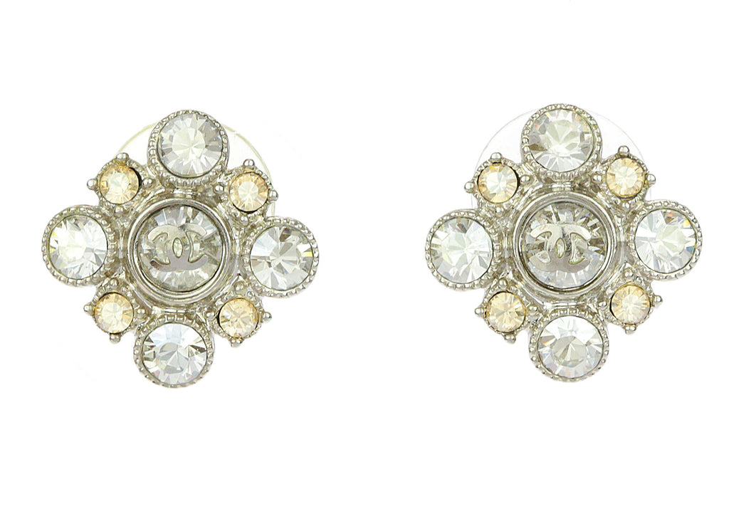 ct pid round diamond earrings cut zoom view large tone shaped stud fashion square two
