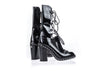 Chanel Runway Patent Leather Chain Boots - Designer Vault - 4