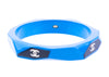 Chanel Blue Resin CC Logo Bangle - Designer Vault
