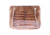 Chanel Vintage Brown Crocodile Tote Shoulder Bag - Designer Vault - 1