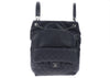Chanel Matelasse Black Lambskin Leather Backpack - Designer Vault - 1
