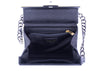 Chanel Vintage Cream and Black Acrylic Flap Bag - Designer Vault - 5