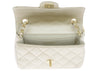 Chanel Satin Gold Mini Flap Bag - Designer Vault - 5