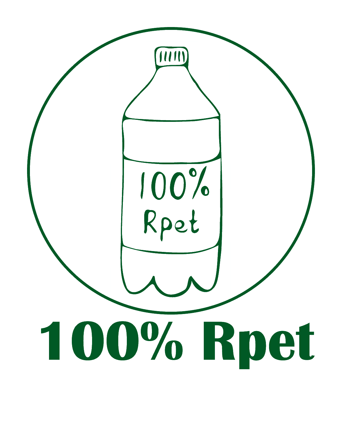 The Green Bundle 100% Rpet Logo