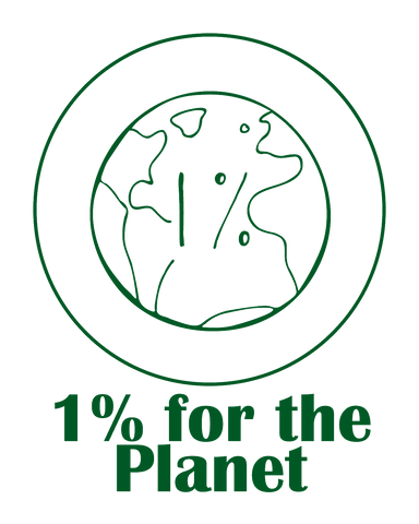 The Green Bundle 1% for the Planet logo