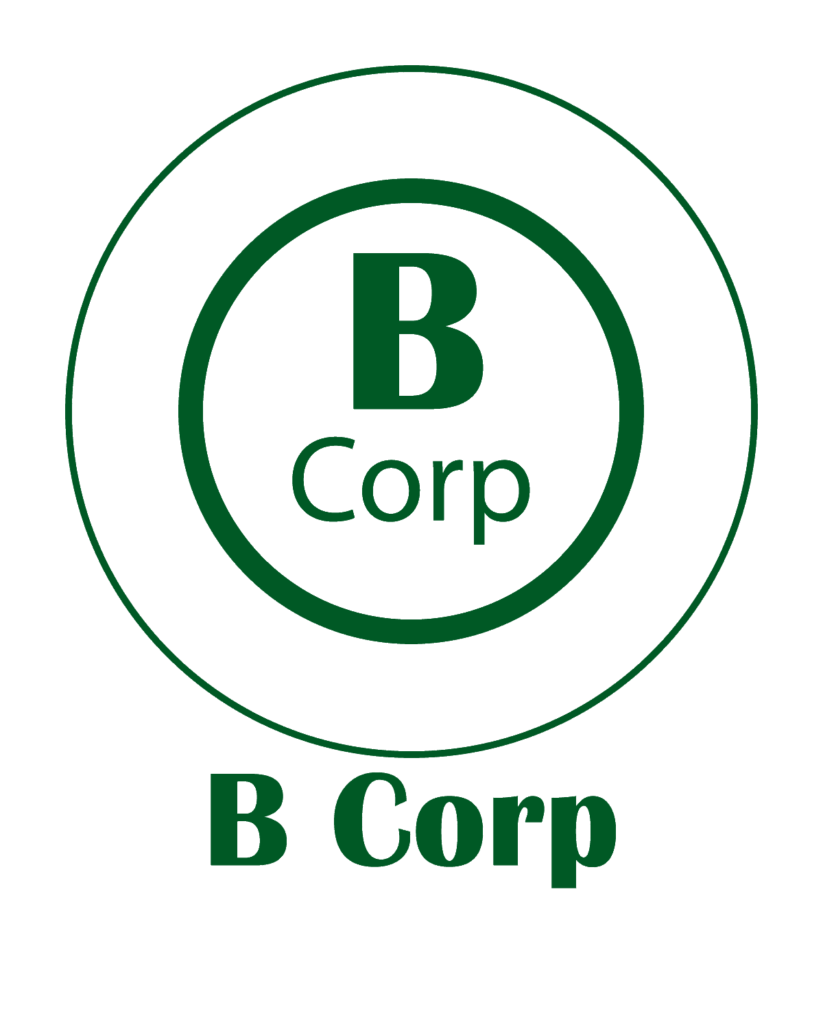 The Green Bundle B Corp Logo