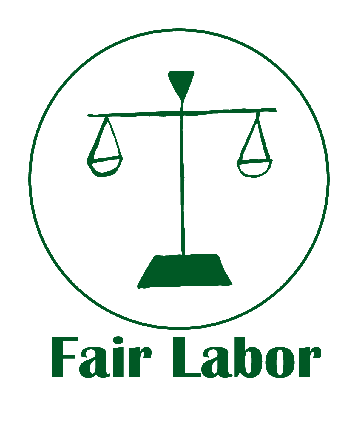 The Green Bundle Fair Labor Logo