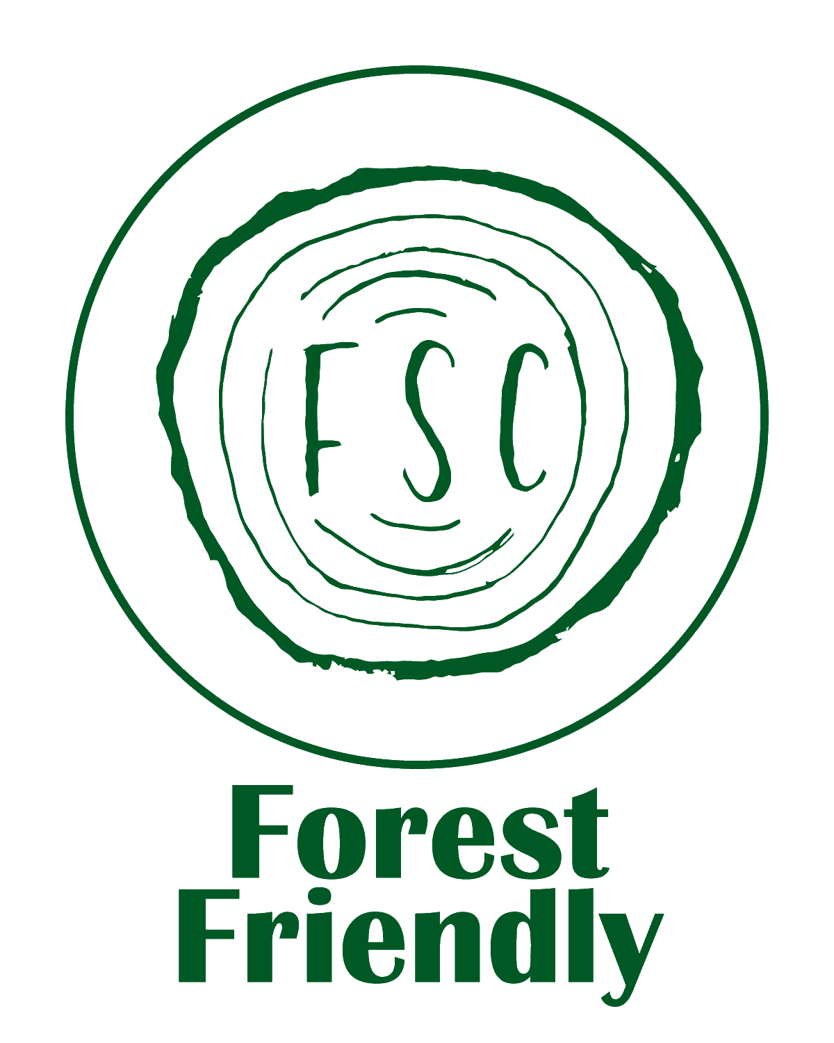 The Green Bundle Forest Friendly Forest Stewardship Council Logo