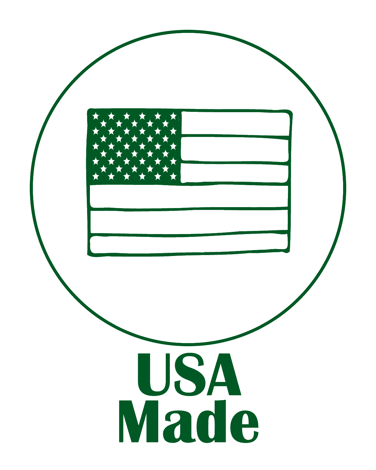 The Green Bundle USA Made Logo