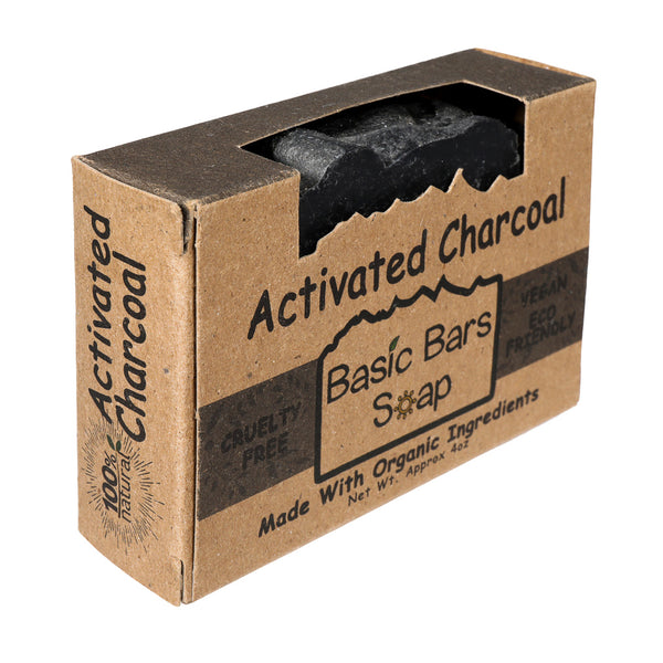 Basic Bars Soap Activated Charcoal