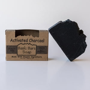 Organic Activated Charcoal Body Bar