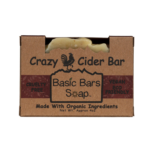 Organic Crazy Cider Body Bar