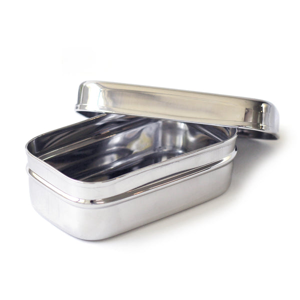 stainless steel lunch box for snacks
