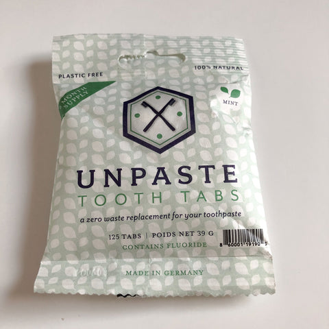 Toothpaste Tabs with Fluoride