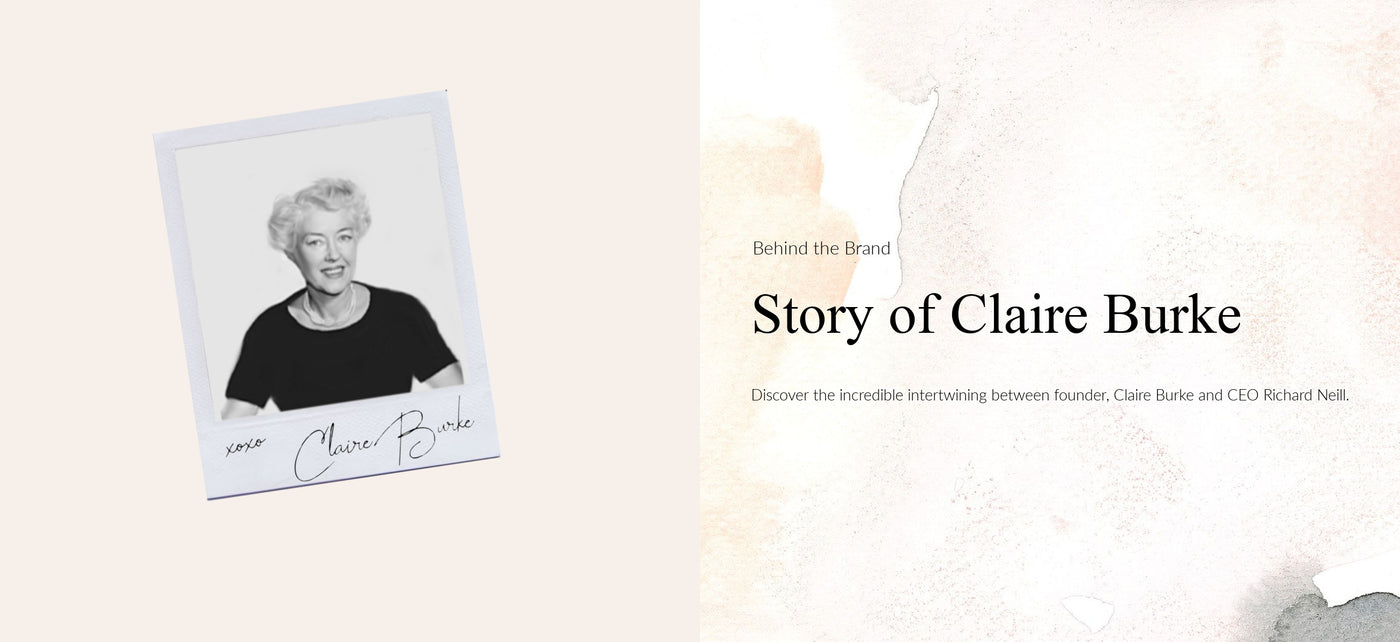 Story of Claire Burke and CEO Richard Neill of Claire Burke Home Fragrance
