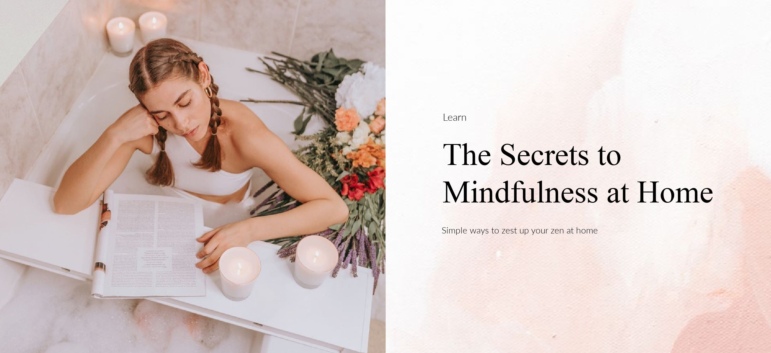 Secrets to Mindfulness at Home with Fragrance
