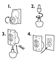 Claire - Burke - Electric - Wall - Fragrance Unit - How - to - Use