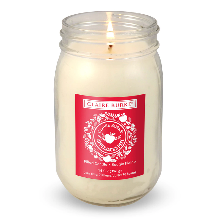 Applejack & Peel® Glass Filled Candle