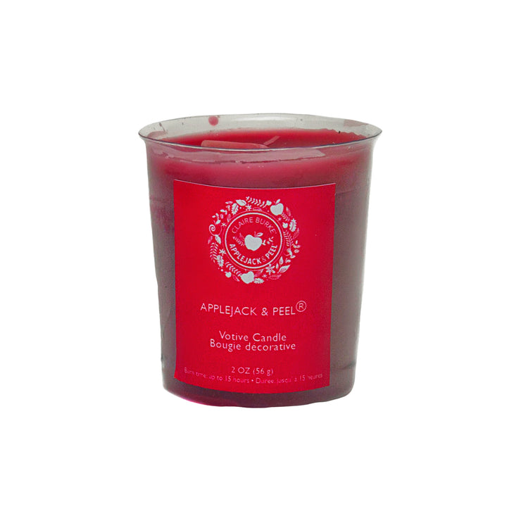 Enjoy Claire Burke's Applejack and Peel® scent of baked apples, cinnamon, spice and a twist of citrus.