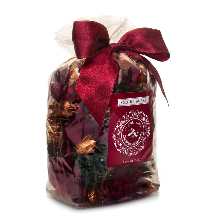 What is the holiday season without Claire Burke's Christmas Memories®. A favorite of customers for decades, Christmas Memories® has become a holiday tradition itself and remains a mainstay in holiday home fragrance.