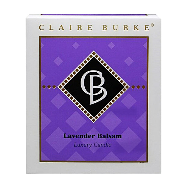 Lavender Balsam Candle: Bringing Sexy Back! Lavender, Citron, Sweet Grass, Rosemary and Sage Clary blend beautifully with a sensual wood mix of Balsam, Cedar and rich Sandalwood to set the perfect mood.