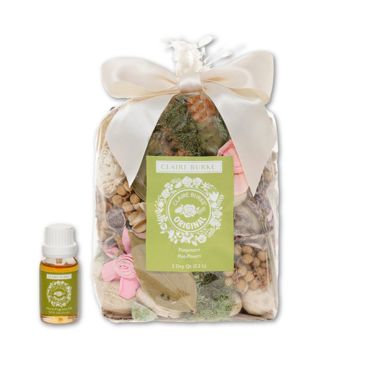 Claire Burke Original Potpourri & Fragrance Oil Bundle