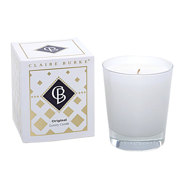 Diamond Original Candle: Complex and creative, comprised of more than 50 ingredients, there is absolutely no scent more timeless, iconic and distinctive than Claire Burke Original, The Scent of Memories®.