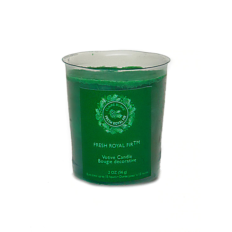 Fresh Royal Fir™ Votive Candle