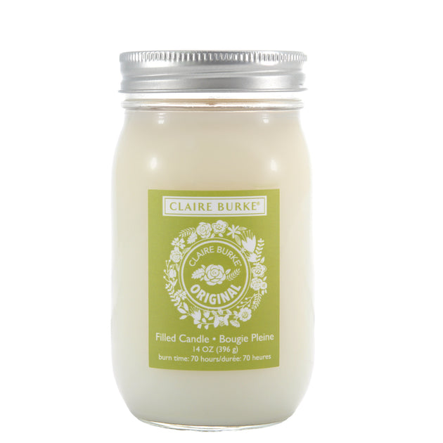 Original Glass Filled Candle Luxury Home Fragrance Claire Burke Home Fragrance