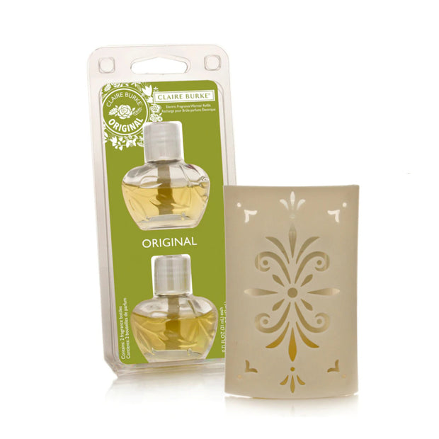 Claire Burke Original Scent Refill & Fragrance Wall Plug-in