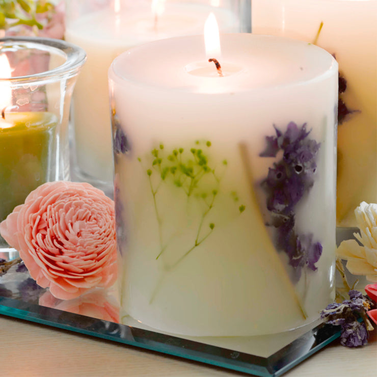 Original Botanical Candle by Claire Burke