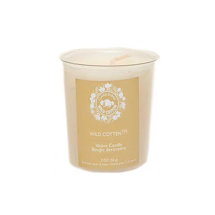 Wild Cotton - The perfect finishing touch to any room or gift. A fresh, light floral scent with notes of citrus, clean white cotton, spring lilies, white freesia, wildflowers, a hint of vanilla, warm woods and soft musk.