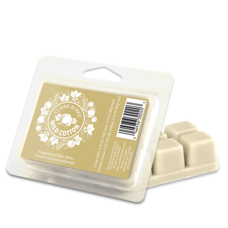Claire Burke Wild Cotton™ Wax Melts