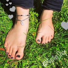 Load image into Gallery viewer, 🍂Grounding Hematite Anklet