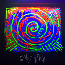 "Load image into Gallery viewer, UV Painting: ""Universal Vibe"""