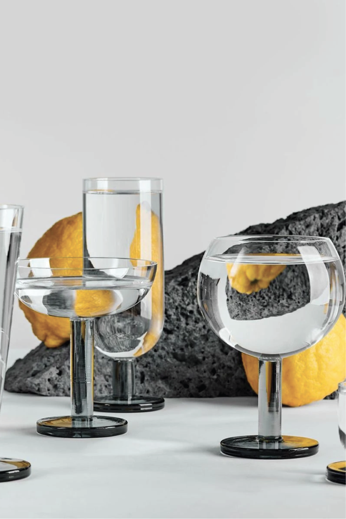 TOM DIXON PUCK BALLOON GLASSES PAIR