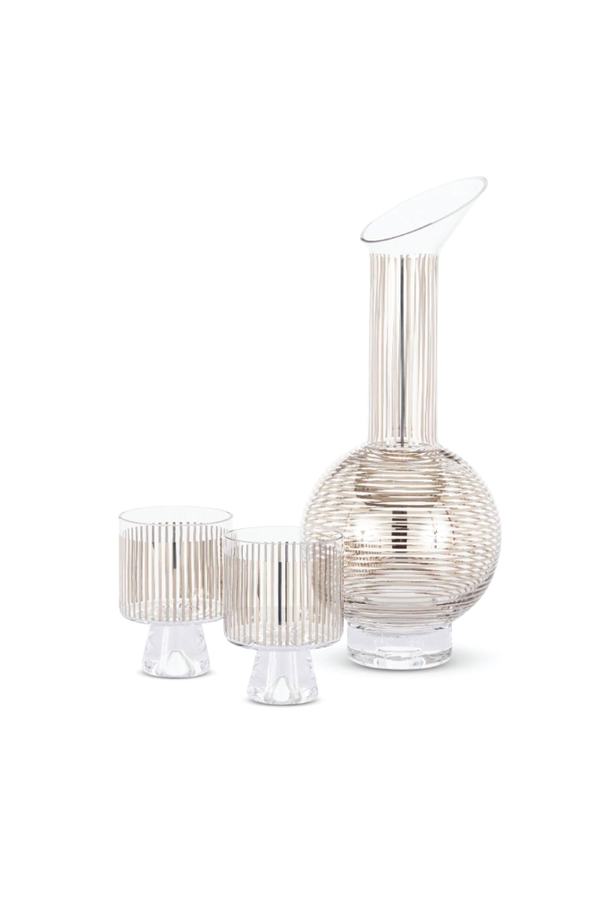 TOM DIXON PLATINUM JUG SET