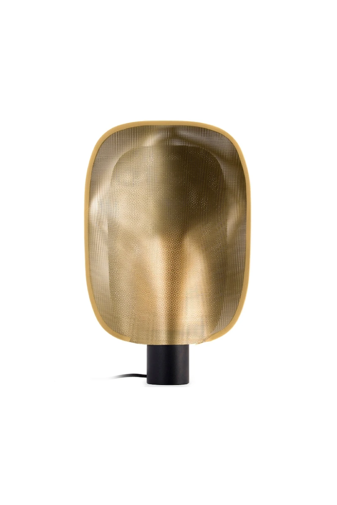 SOFT GOLD TABLE LAMP LARGE