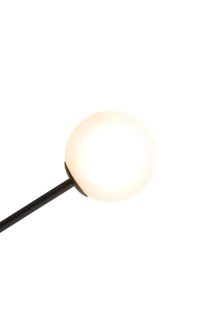 MINIMALIST FLOOR LAMP WITH MARBLE BASE