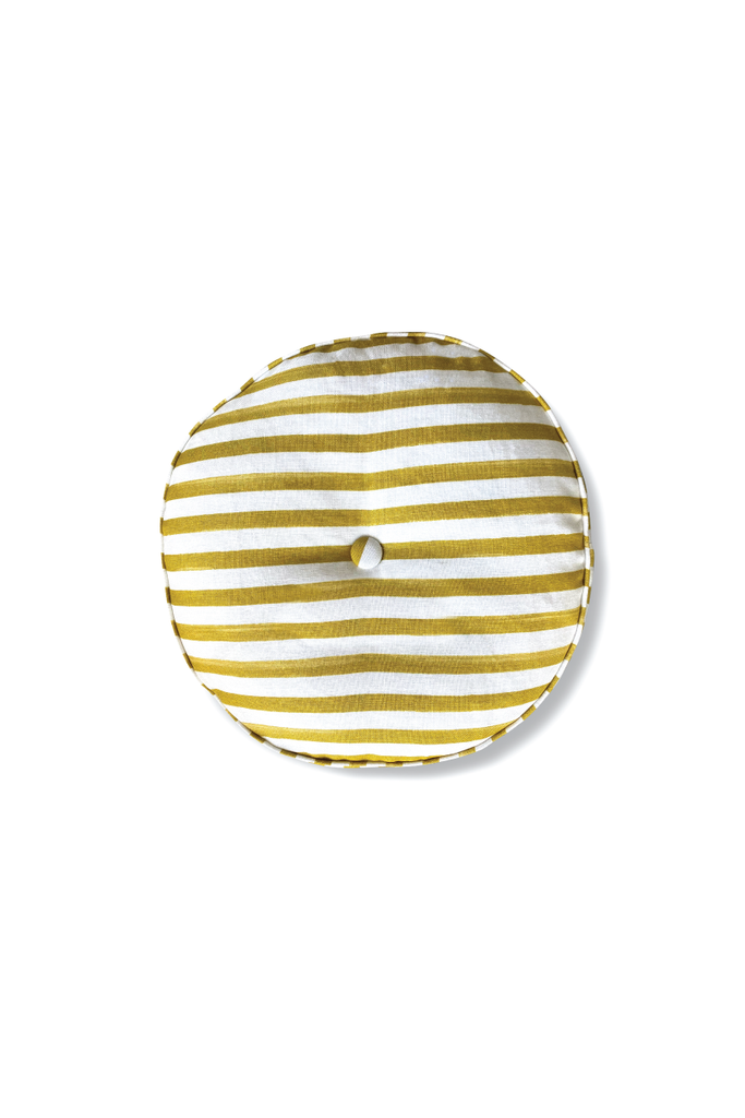 OCHRE ROUND CUSHION
