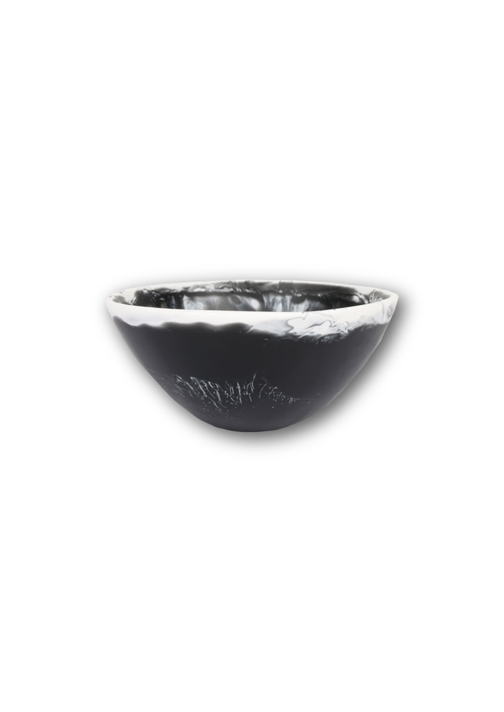 SMALL BALL BOWL BLACK AND WHITE BY DINOSAUR DESIGNS