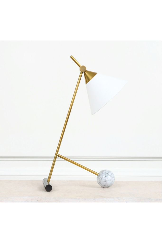 CLEO TABLE LAMP BY KELLY WEARSTLER