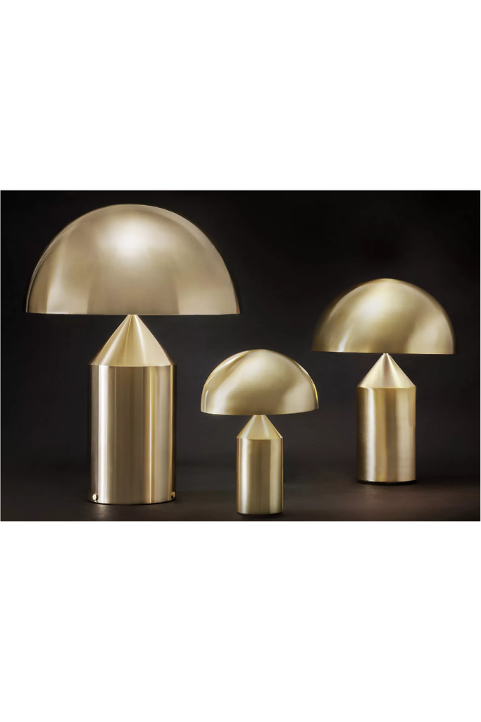 ATOLLO LAMP GOLD SMALL