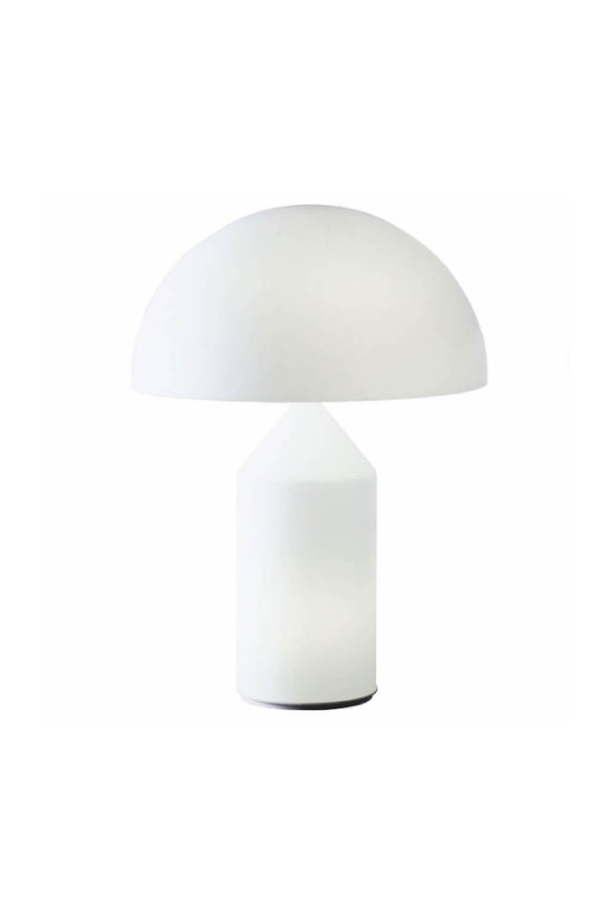 ATOLLO LAMP WHITE MURANO GLASS LARGE