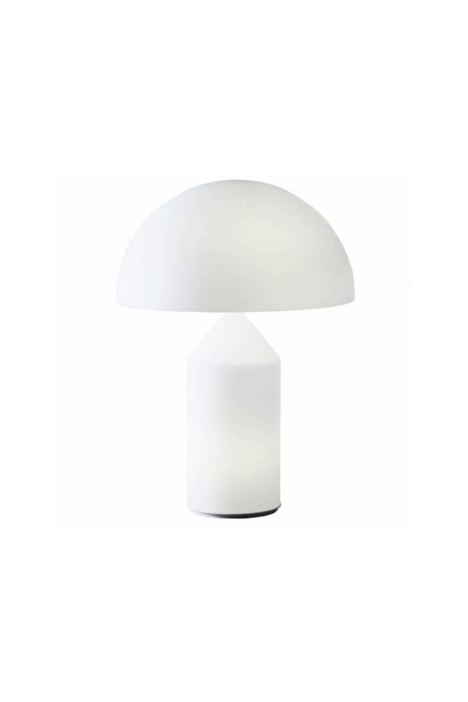 ATOLLO LAMP WHITE MURANO GLASS MEDIUM