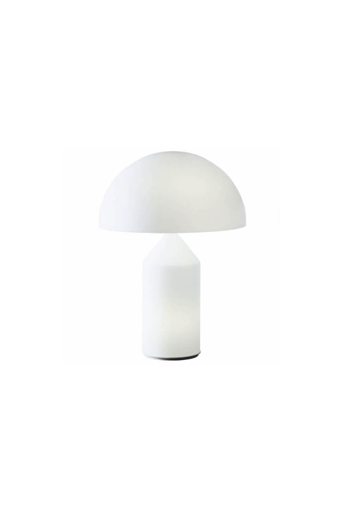 ATOLLO LAMP WHITE MURANO GLASS SMALL