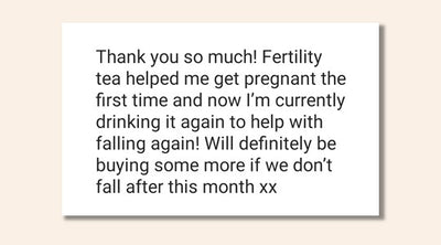 Fertility Herbs Feedback
