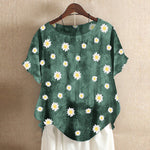 Daisy Collection Print T-Shirts Tops