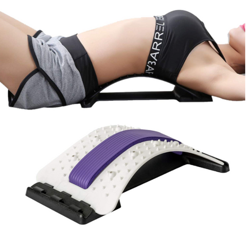 Lower Back Stretcher with Magnetic Acupressure Points