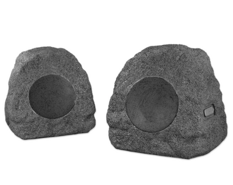 Premium 5-Watt Bluetooth Outdoor Rock Speakers